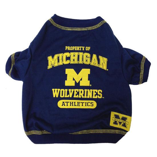 University of Michigan Pet Tee Shirt