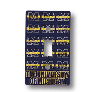 Light Switch Plate Univ. of Michigan