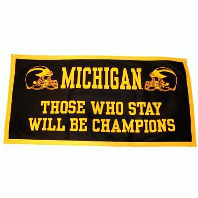 University of Michigan ''Those Who Stay