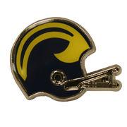 Small Michigan Helmet Magnet
