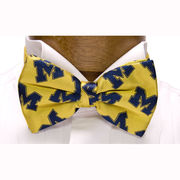 Bow Tie Yellow / Pre-Tied Michigan