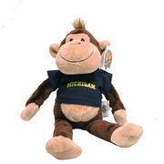 Stuffed Michigan Monkey