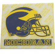 Sticker Michigan Wolverines Helmet