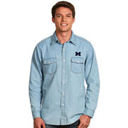 Antigua University of Michigan Chambray