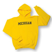 Champion Youth Yellow Michigan Hood
