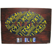 Michigan License Plate Wall Art