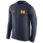 Nike University of Michigan Heather Navy