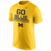 Nike University of Michigan Yellow ''Go