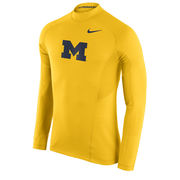 Nike University of Michigan Yellow Long