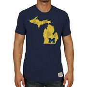 Retro Brand University of Michigan Navy