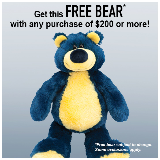 Free Gift with Purchase of $200 or more