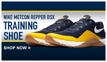 Get the University of Michigan Nike Metcon Repper DSX. Now available at The M Den!