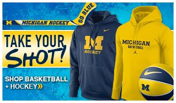 UM Hockey and Basketball Merchandise
