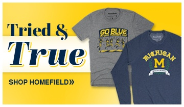Shop New U-M Gear by HomeField Apparel. Available Now From The M Den!