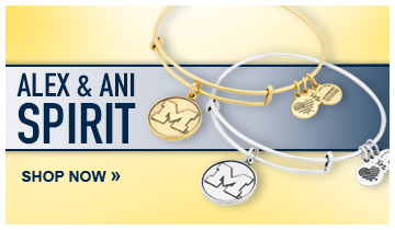 University of Michigan alex & ani bracelets