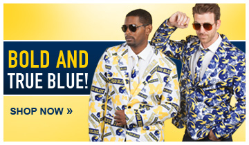 Be Bold. Be You. Be Valiant with these University of Michigan Ugly Business Suits