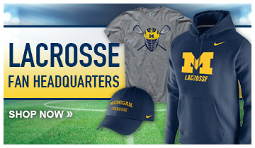 Shop University of Michigan Lacrosse clothing and gifts now at The M Den-- The official retailer of Michigan Athletics