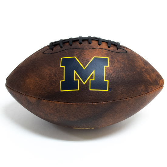 Wilson University of Michigan Football Mini Vintage Football