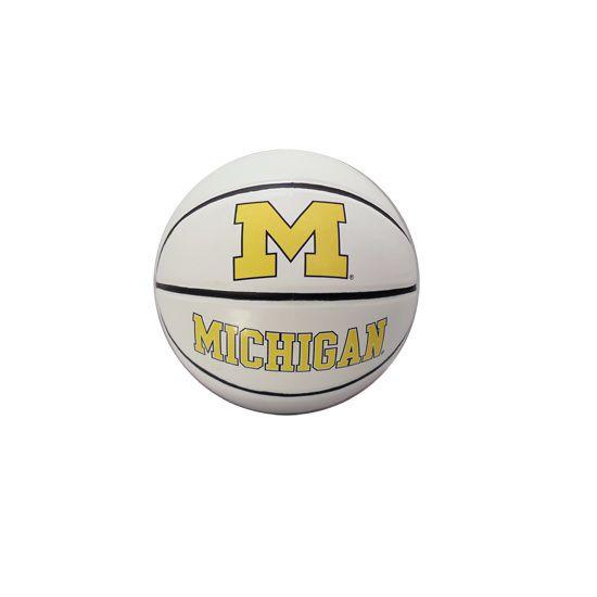 Baden University of Michigan Autographable Basketball