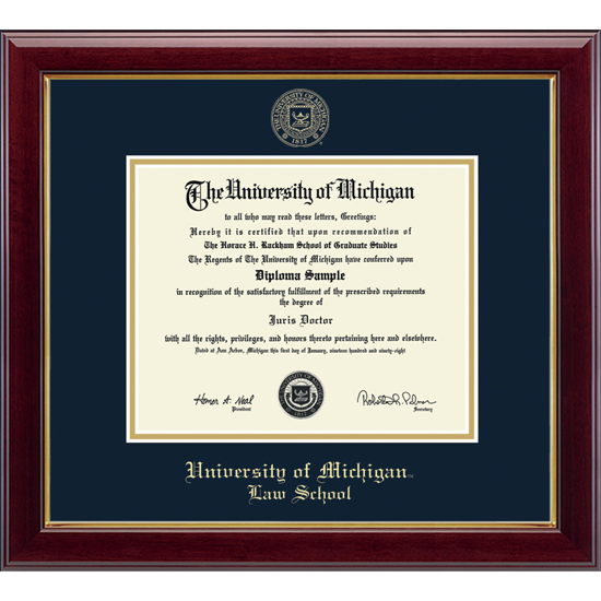 Diploma Frames - The M Den