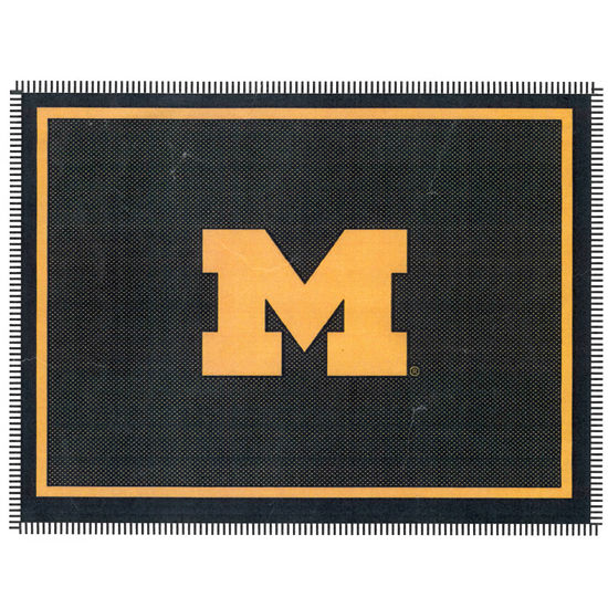 Boxercraft University Of Michigan Block M Throw Blanket