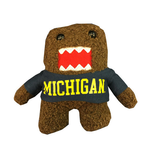 Plushland University of Michigan 7 Domo Plush Figurine