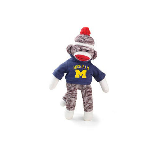 University of Michigan 8'' Sock Monkey