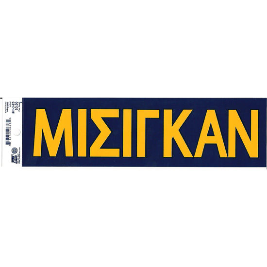 Pine University of Michigan Greek Michigan Bumper Sticker