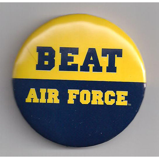 MCM University of Michigan Beat Air Force Button