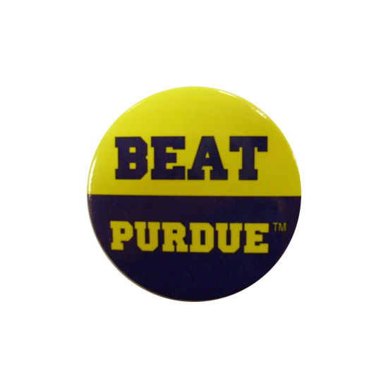 MCM University of Michigan Beat Purdue Button