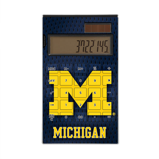 Keyscaper University of Michigan Desktop Calculator