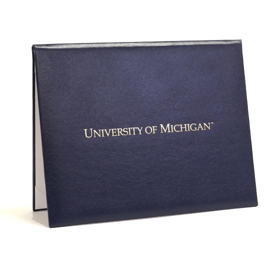 Church Hill Classics University of Michigan Padded Diploma Cover