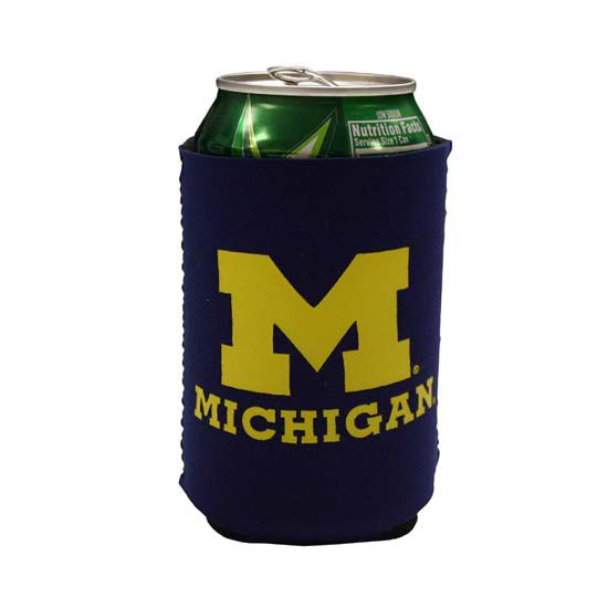 Spirit Products University of Michigan Collapsible Can Cooler