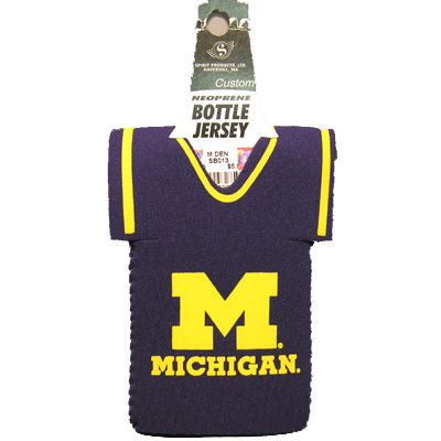 Spirit Products University of Michigan Collapsible Bottle Cooler