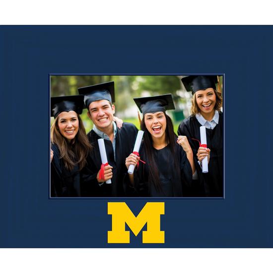 Church Hill Classics University of Michigan Spectrum 5x7 Horizontal Picture Frame