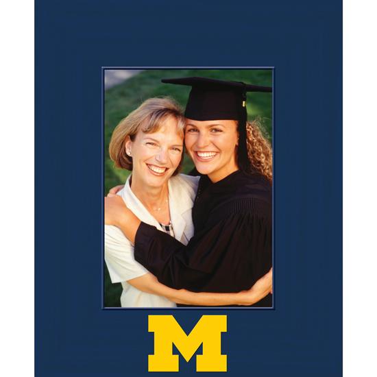 Church Hill Classics University of Michigan Spectrum 5x7 Vertical Picture Frame