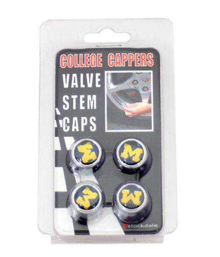 Stockdale University of Michigan Valve Stem Caps