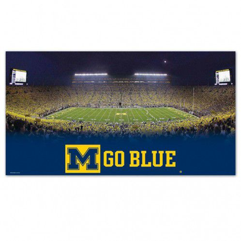 WinCraft University of Michigan Football Large Floor Mat