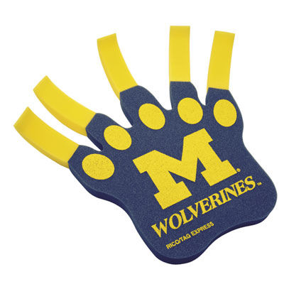Michigan Wolverines Foam Claw
