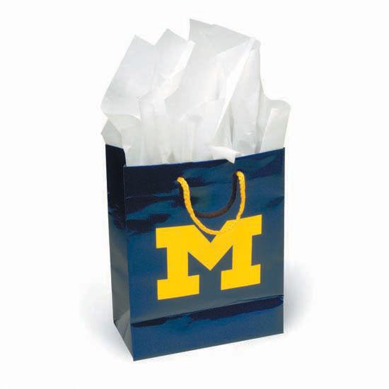 University of Michigan Small Gift Bag
