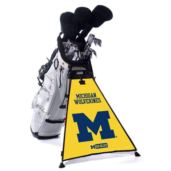 CGP University of Michigan Bag Tag Golf Bag Banner