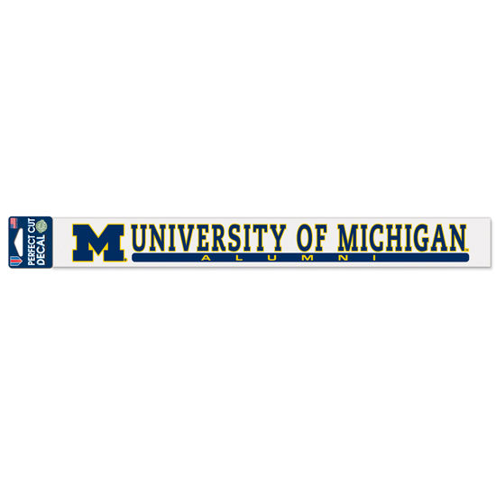 WinCraft University of Michigan Alumni Long Strip Decal