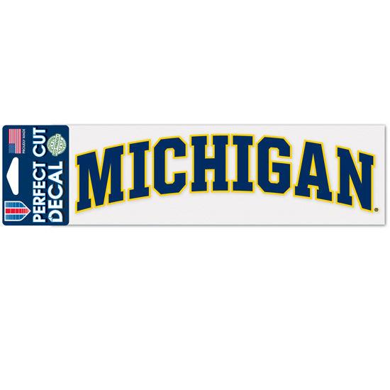 WinCraft University of Michigan Arched Michigan Decal