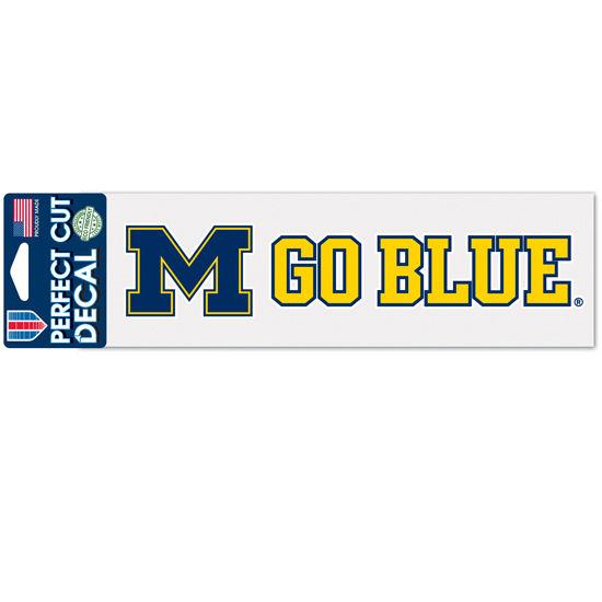 WinCraft University of Michigan M Go Blue Decal