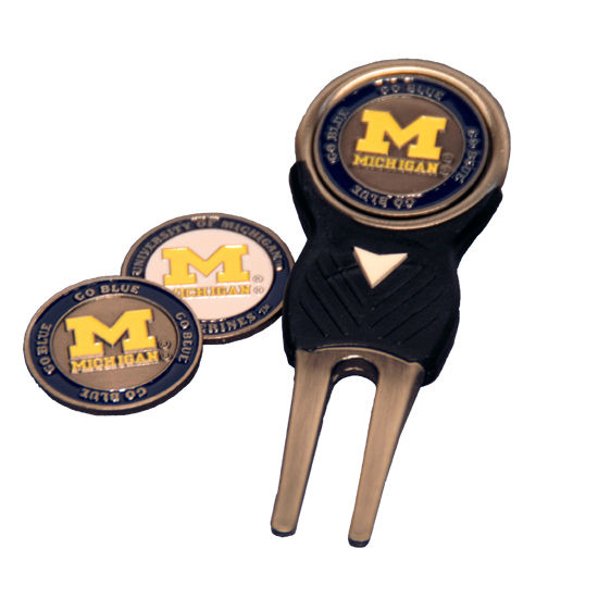 Team Golf University of Michigan Divot Repair Tool