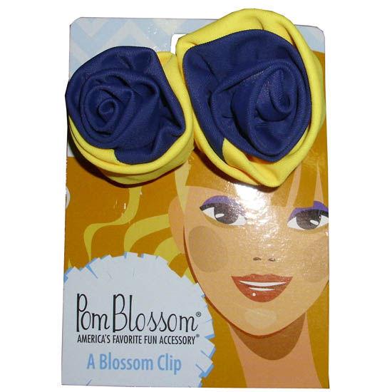 Pomchies University of Michigan Pom Blossom Hair Clip