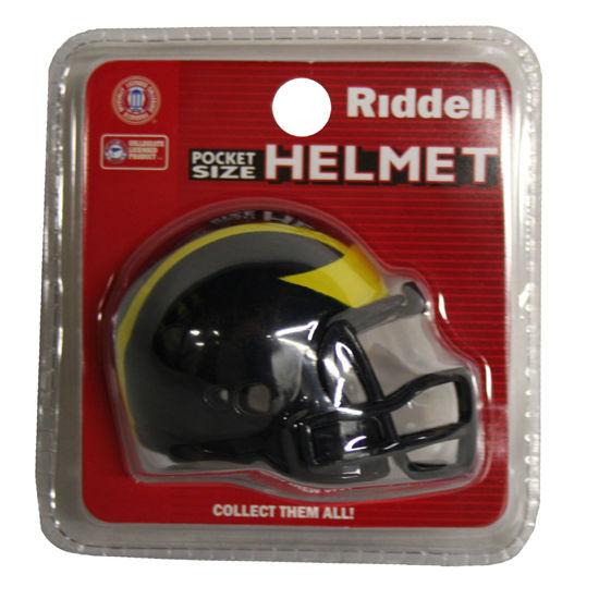 Pro Pocket Size University of Michigan Football Helmet