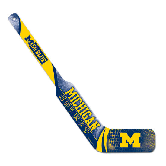 WinCraft University of Michigan Hockey Wooden Mini Goalie Stick