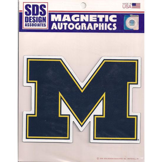 SDS University of Michigan Block M Car Magnet (5 3/4 x 8)