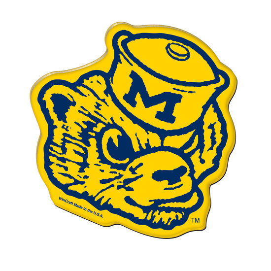 WinCraft University of Michigan Vault Wolverine Acrylic Magnet